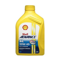 Oli shell Advance Ax5 20W-40W motor matic