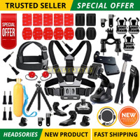 Action Video Cameras Accessory Gopro accessory set go pro kit mount