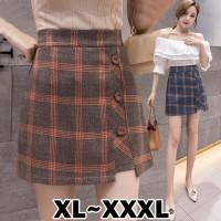 824 Bigsize XL/XXL/XXXL Cosmos Korean Skirt/Rok Pendek/Mini Skirt