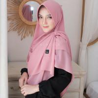 Ghania by Azmeela Pastan Pashmina Jilbab hijab instan