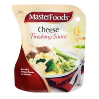 masterfoods cheese finishing sauce 160gr