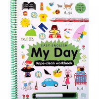 Easy English Wipe Clean Work Book About My Day - Help With Homework