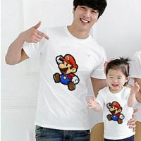 Kaos Couple Family Super Mario mini