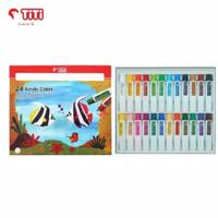 Joyko TITI 24 Acrylic Colors / Cat Akrilik 24 Warna AC-12ML-24