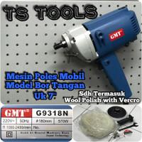 "Mesin Poles Mobil 7"" GMT G9318N / Polisher GMT G 9318 N 7 inch"