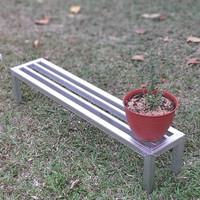 Rak Tanaman Minimalis 1 Meter - Baja Ringan - Grab/Gojek Instant