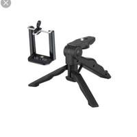 tripod handle folding vlog smartphone actioncam gopro mini