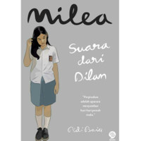Milea Suara dari Dilan Buku Novel Ready Stock Asli