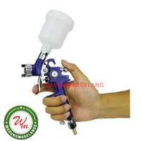 Taffware Alat Spet Semprot Cat SPRAY GUN HVLP H 2000A Airbrush Tabung