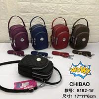 TAS SELEMPANG CHIBAO BORDIR Mini 3Slet CB8182