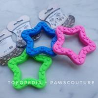 (C36) Mainan gigit karet kunyah anjing hewan pet dog rubber toys
