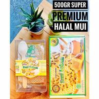 Madu Sarang Asli / Dinkes PIRT Halal MUI - 100 gram