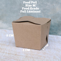 FOOD PAIL - RICE BOX - NOODLE BOX - LUNCH BOX - PAPER BOX FOOD GRADE S
