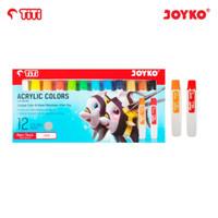 Joyko TITI 12 Acrylic Colours / Cat Akrilik 12 Warna AC-12ML-12