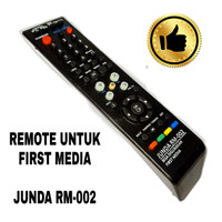 REMOTE RECEIVER PARABOLA FIRST MEDIA HD JUNDA RM002