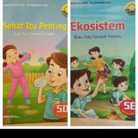 Buku teks tematik terpadu kls 5D & 5E yudistira 2 buku
