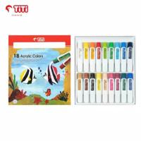 Joyko TITI 18 Acrylic Colours / Cat Akrilik 18 Warna AC-12ML-18