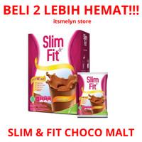 SUSU SLIM & FIT MEAL REPLACEMENT CHOCO MALT COKLAT SLIMFIT SLIM FIT