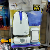 Bel Pintu wireless DC 2 remote door bell heles Harnic D-067 k2