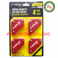 Magnet holder welding arrow magnetic siku magnet las 4 pcs SOLID