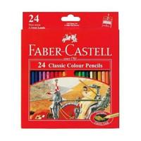 Pensil warna Faber Castell 24 classic colour pencils