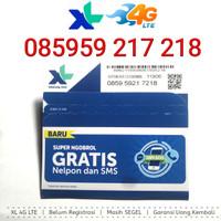 Kartu Perdana Nomor Cantik XL 4G LTE 085959 217 218