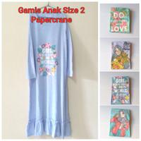 Papercranes Gamis Anak Perempuan Baju Cewek Muslimah Papercrane
