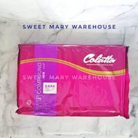 Colatta Dark Chocolate Compound Repack 1kg Cokelat Batang Colatta