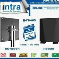 INTRA ANTENA TV ANALOG DIGITAL DALAM LUAR INDOOR OUTDOOR INT 118