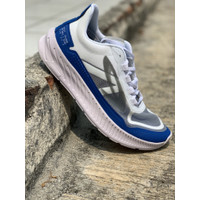 sepatu running original 910 GEIST EKIDEN putih biru new 2020