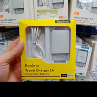 charger realme 2a original 99% micro usb single port packing import