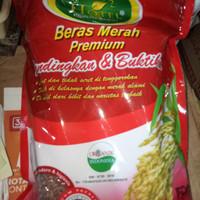 Beras Merah Premium Hotel 1pcs 2kg