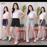 Celana sport hotpants pendek import olahraga senam gym fitnes wanita