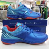 Sepatu Badminton Flypower Plaosan 07 royal /blue /sky blue / red