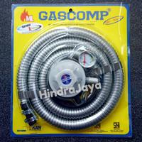 Paket Regulator dan Selang Gascomp GRT-924E SNI
