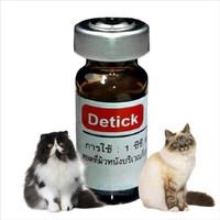 Obat kutu Detick Hewan anjing - Kucing 1ml perawatan Groming Hewan