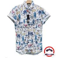 Kemeja Pantai/Surfing Baju fashion motif baru