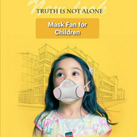 Masker Electric with Fan Anti-Haze for Children