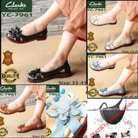 Sepatu Clarks Wanita Original Yc 7961