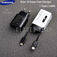 Charger Samsung S20 Note10 Super Fast Charging USB Type-C Orignal100%