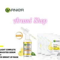 Garnier serum Light complete booster paket super hemat 2