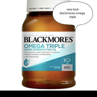 Blackmores Odourless Omega Triple Fish oil Super Strength 150Tablets