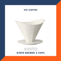 V60 Dripper Kinto Brewers 2 Cups Ceramic Octagon
