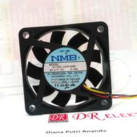 Cooling Fan Kipas Pendingin NMB 6cm 24v 24volt DC tipis 1cm 3 kabel 24