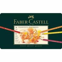 Faber-Castell Colour Pencils Polychromos 36 Tin box - Pensil Warna