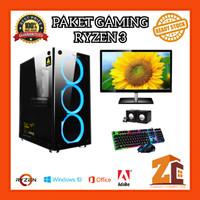 Paket Pc Gaming/Editing Amd Ryzen 3 3200G VEGA 8 8GB 120GB 500GB - 8 gb