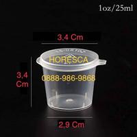 Saos Container Impor 1 oz atau 25 ML @50 Pcs Pengganti Suapi