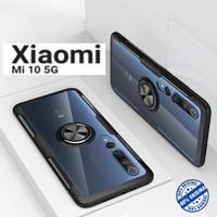 New Case Xiaomi Mi10 5G Hybrid iRing Stand Clear mi 10 pro casing