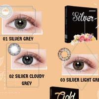 Softlens X2 Silver Gold / Softlens Ice Silver / Softlens Ice Gold