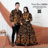 batik keluarga family motif cendrawasih emas